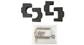 #31105 - Batwing Thule and Yakima Bracket Kit | Rhino-Rack