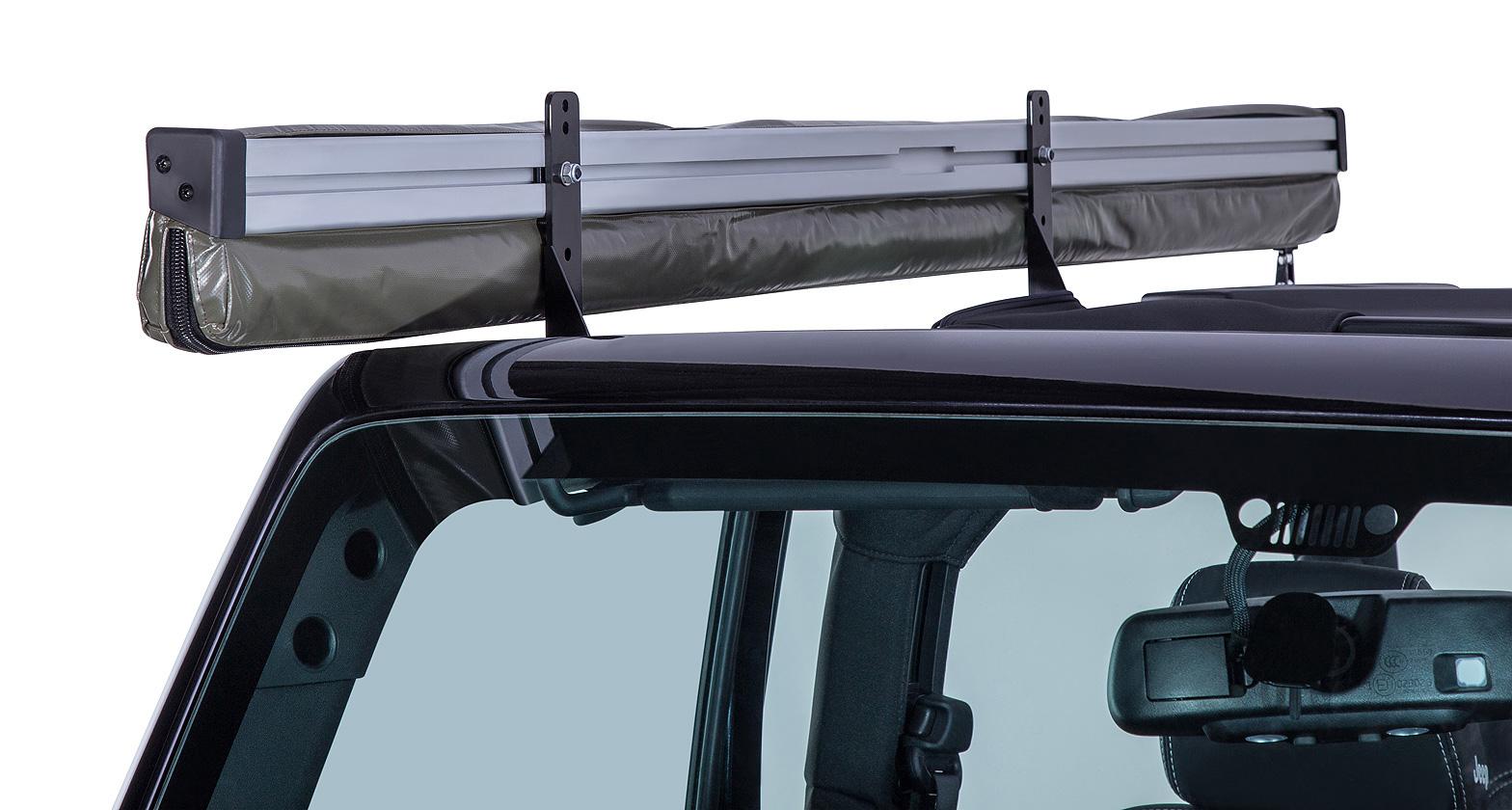 Sunseeker/Foxwing Eco Bracket Kit (Jeep Wrangler 2dr) - #32122 | Rhino-Rack  sc 1 st  Rhino-Rack & Sunseeker/Foxwing Eco Bracket Kit (Jeep Wrangler 2dr) - #32122 ...