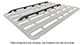 #43140B - Pioneer Platform Side Rails (Suits 42100B/42101B/44100B/44101B) | Rhino-Rack