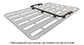 #43163B - Pioneer Platform Front & Side Rails (Suits 42100B/2B/7B) | Rhino-Rack