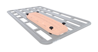 Pioneer Recovery Track Flat Bracket