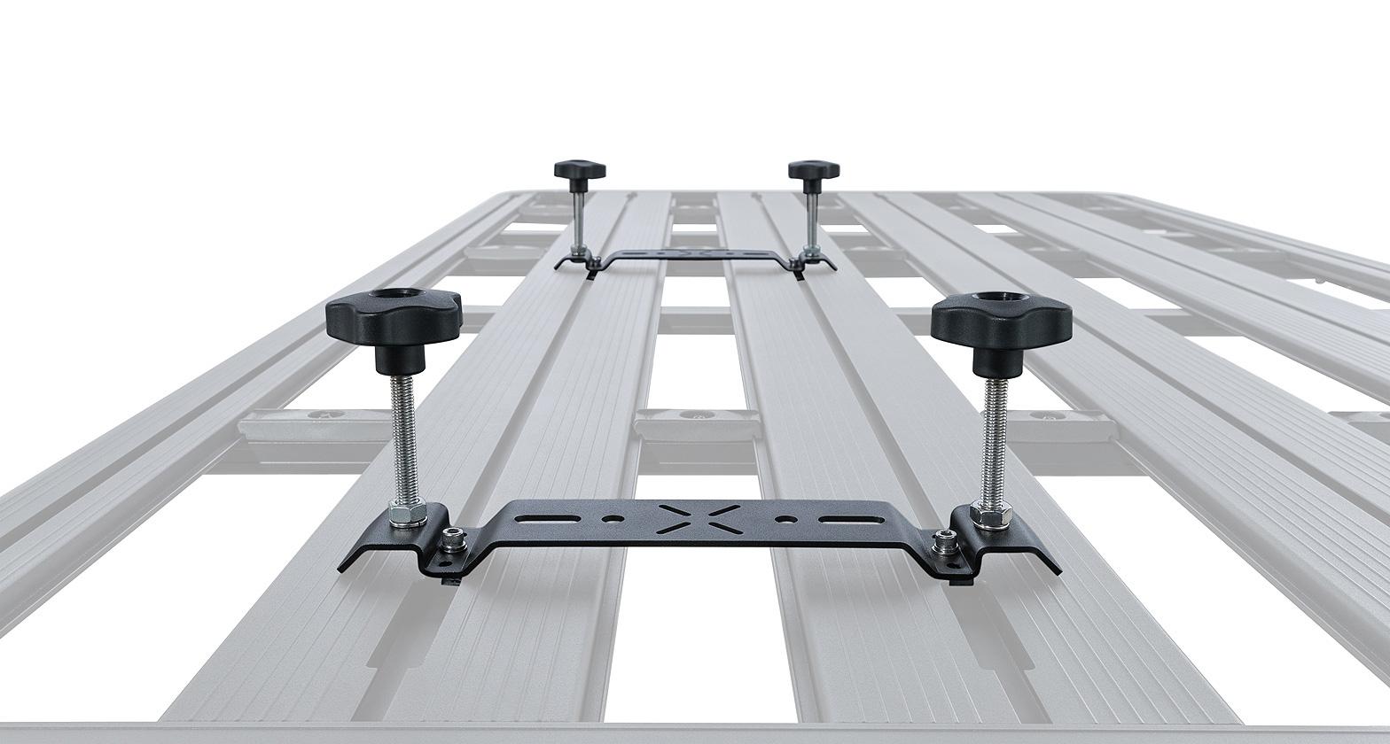 43235 Pioneer Recovery Track Flat Bracket Rhino Rack