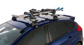 Ski Carrier and Fishing Rod Holder - Holds 2 Skis or 1 Snowboard - #572 | Rhino-Rack