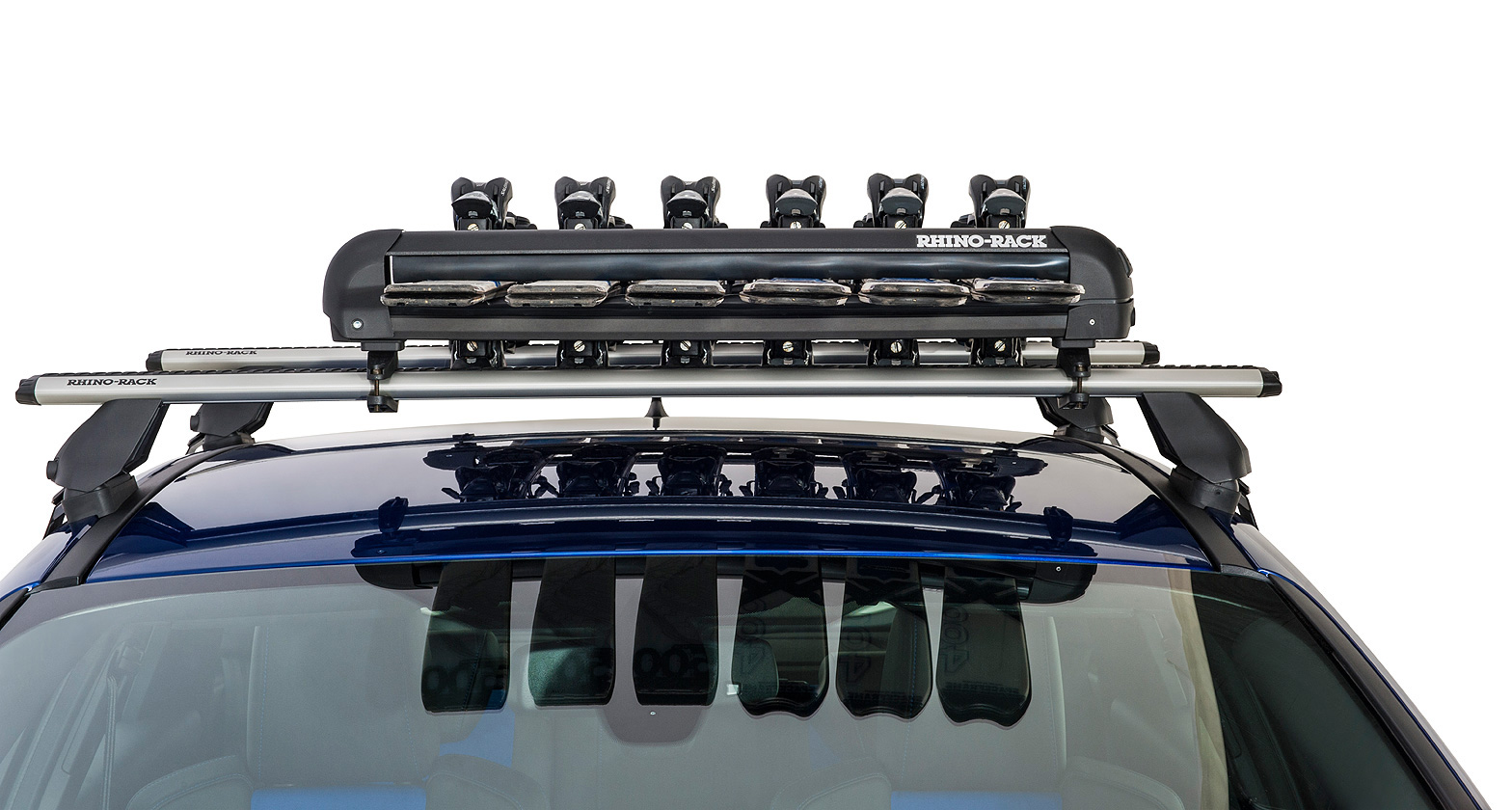 576 Ski And Snowboard Carrier 6 Skis Or 4 Snowboards