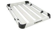 Vortex 2500 Silver 2 Bar FMP Roof Rack + AT1510 Tray (1580mm x 1065mm)