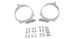 150mm Conduit Clamps (x2) - #BC2-150 | Rhino-Rack