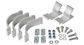 Conduit Clamp Set - 2 Piece - #BC2 | Rhino-Rack