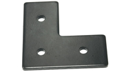 L Shape Flat Steel Fitting Plate