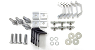Alloy Tray Fitting Kit (Heavy Duty 2 Bar Systems - For use with AT1210 & AT1510)
