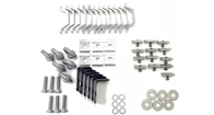 Alloy Tray Fitting Kit (Heavy Duty 2 & 3 Bar Systems)