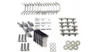 Alloy Tray Fitting Kit (Heavy Duty 3 Bar Systems - For use with AT1814)
