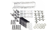 Alloy Tray Fitting Kit (Heavy Duty 4 Bar Systems)