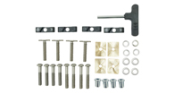 Kayak Carrier Fitting Kit (Commercial Bar)