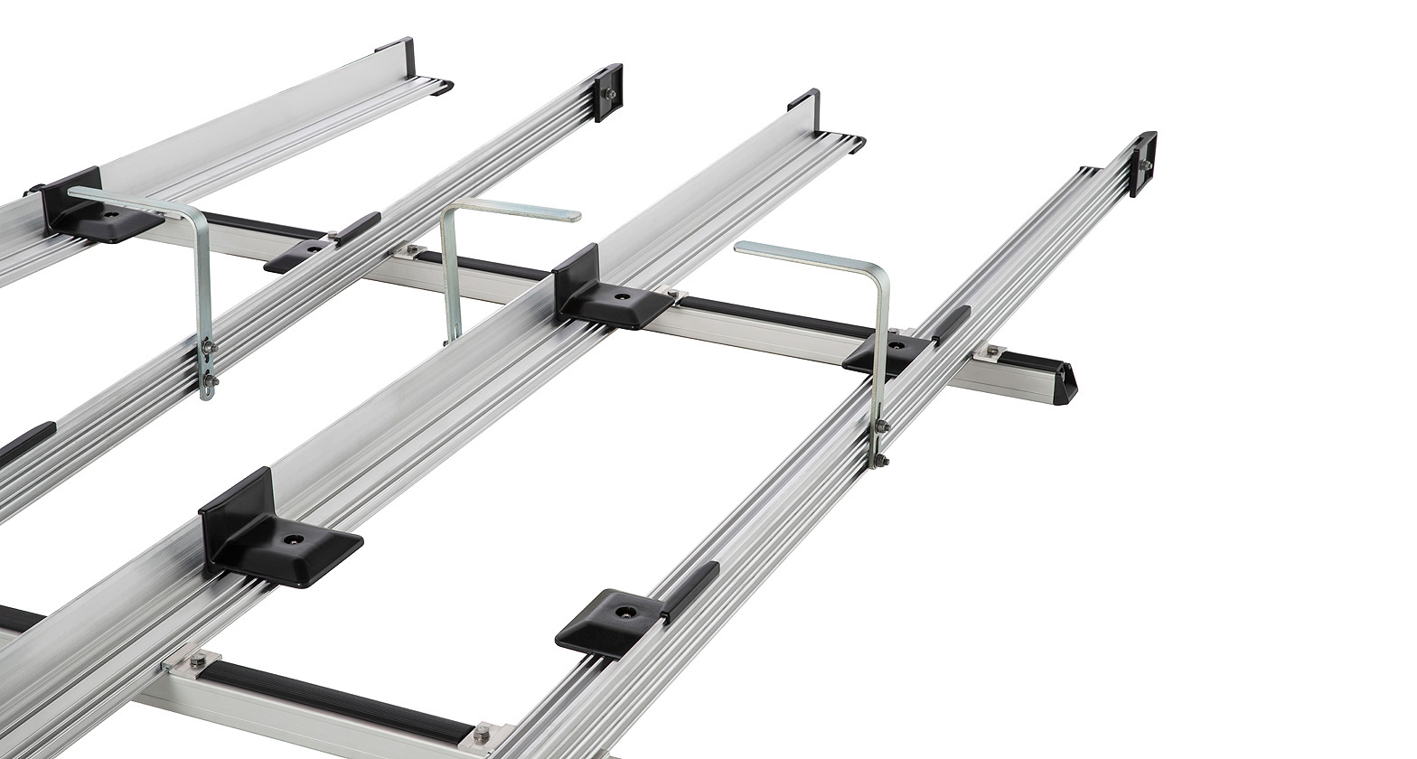 Jb0237 Multislide Double Ladder Rack System Rhino Rack