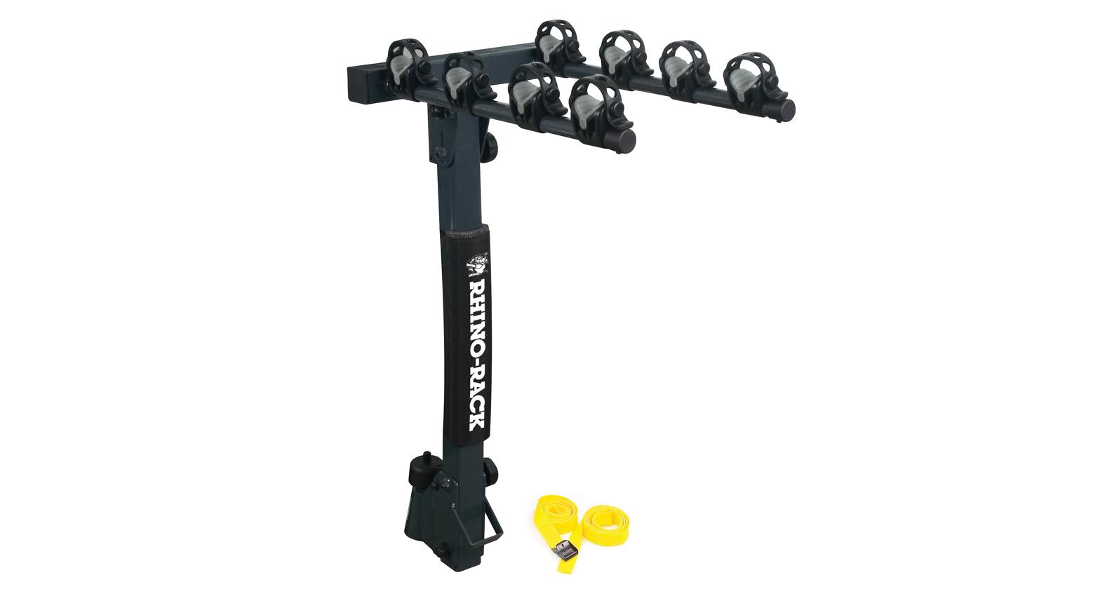 Tow ball bike rack