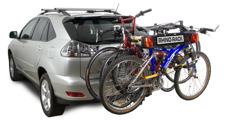 4 Bike Carrier (Towball Mount) - #RBC008 | Rhino-Rack