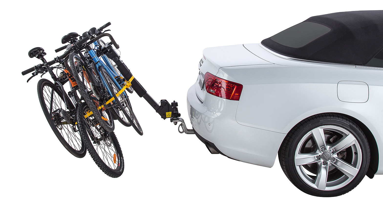 RBC008 - 4 Bike Carrier | Rhino-Rack  sc 1 st  Rhino-Rack & 4 Bike Carrier (Towball Mount) - #RBC008 | Rhino-Rack