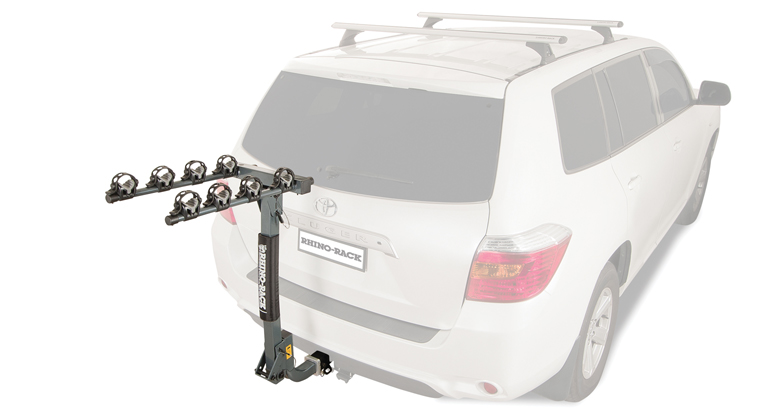 2 Arm Hitch Receiver Bike Carrier with Locking Pin - #RBC038 | Rhino-Rack