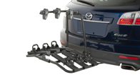 Platform Hitch Mount Bike Carrier - Fits 3 Bikes