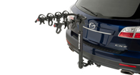 Premium Hitch Mount Bike Carrier - Fits 4 Bikes