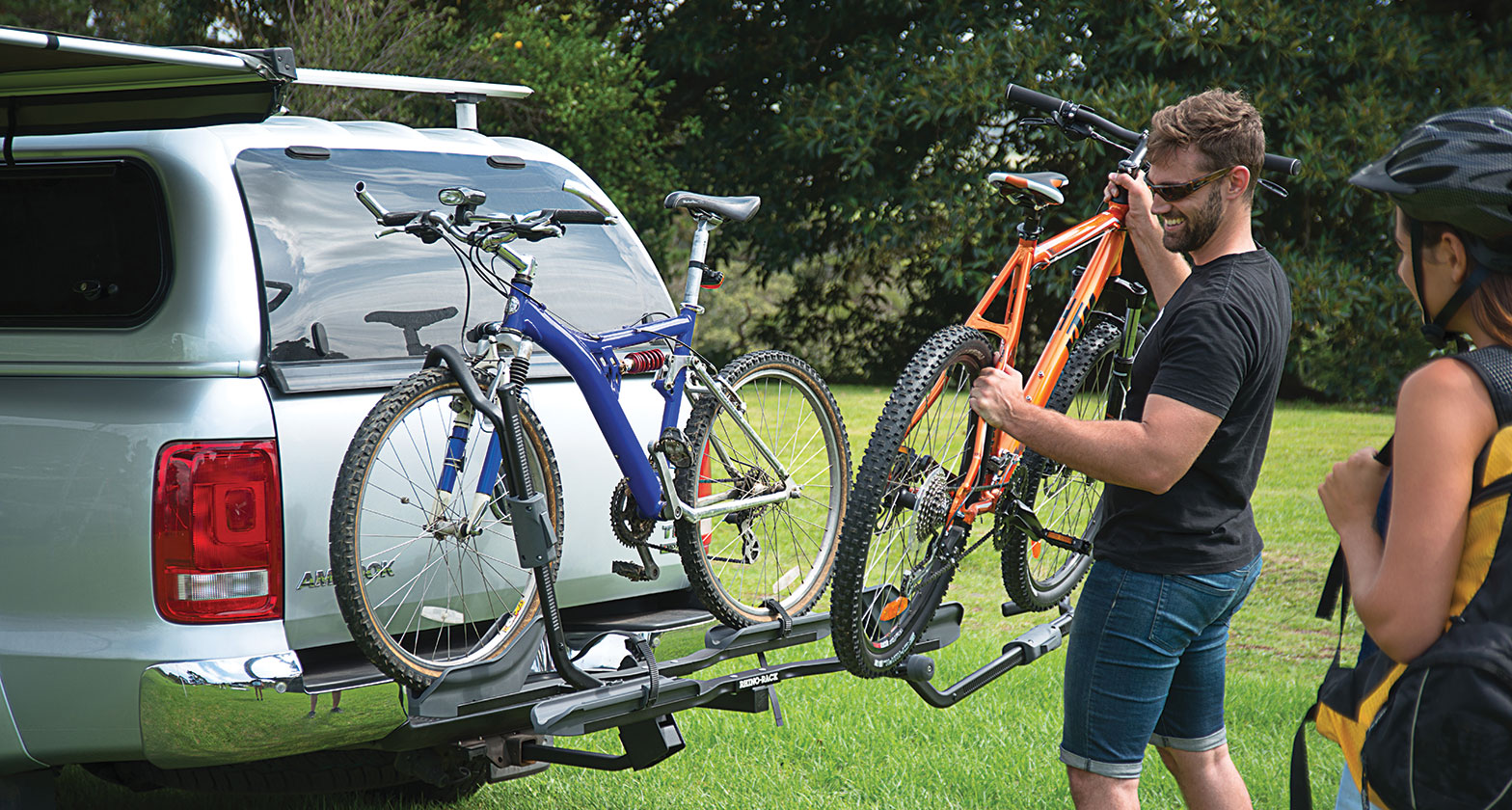Rbc048 Dual Trekker Platform Hitch Bike Carrier Rhino