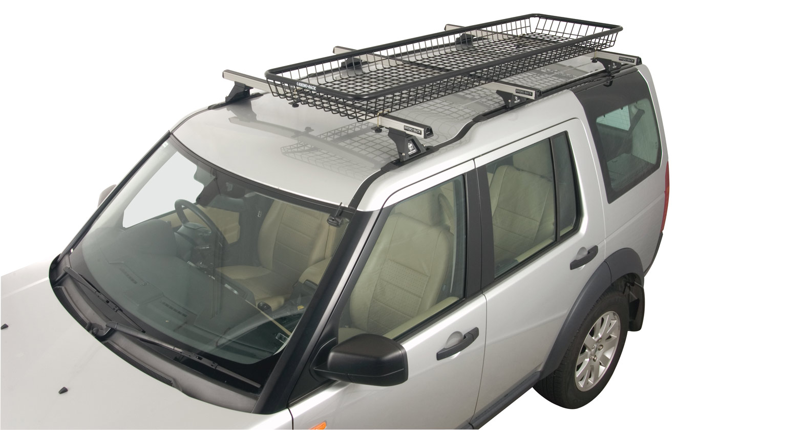 Rlbhl Steel Mesh Basket Half Long Rhino Rack