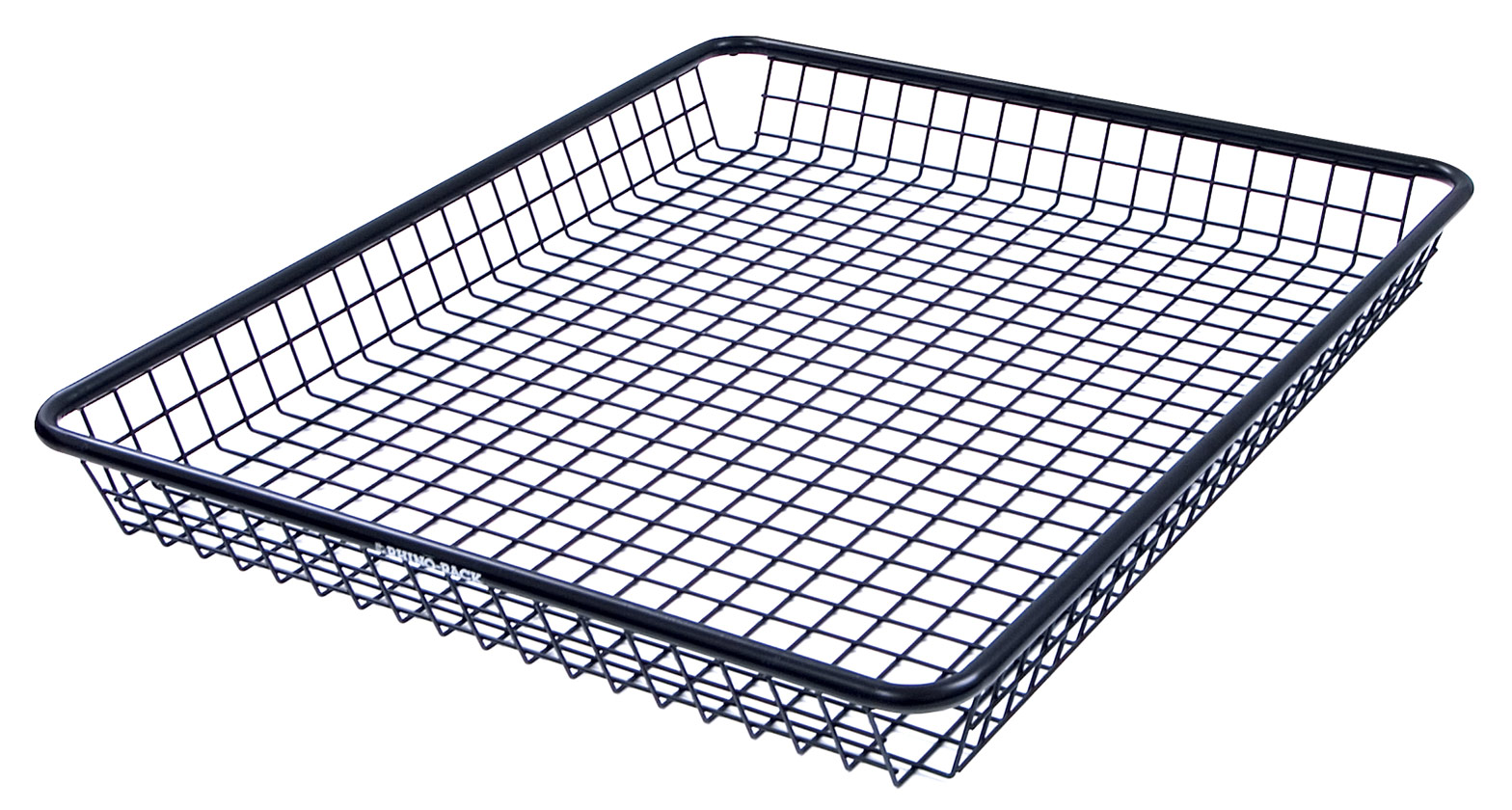 steel mesh basket medium rlbm rhino rack. Black Bedroom Furniture Sets. Home Design Ideas