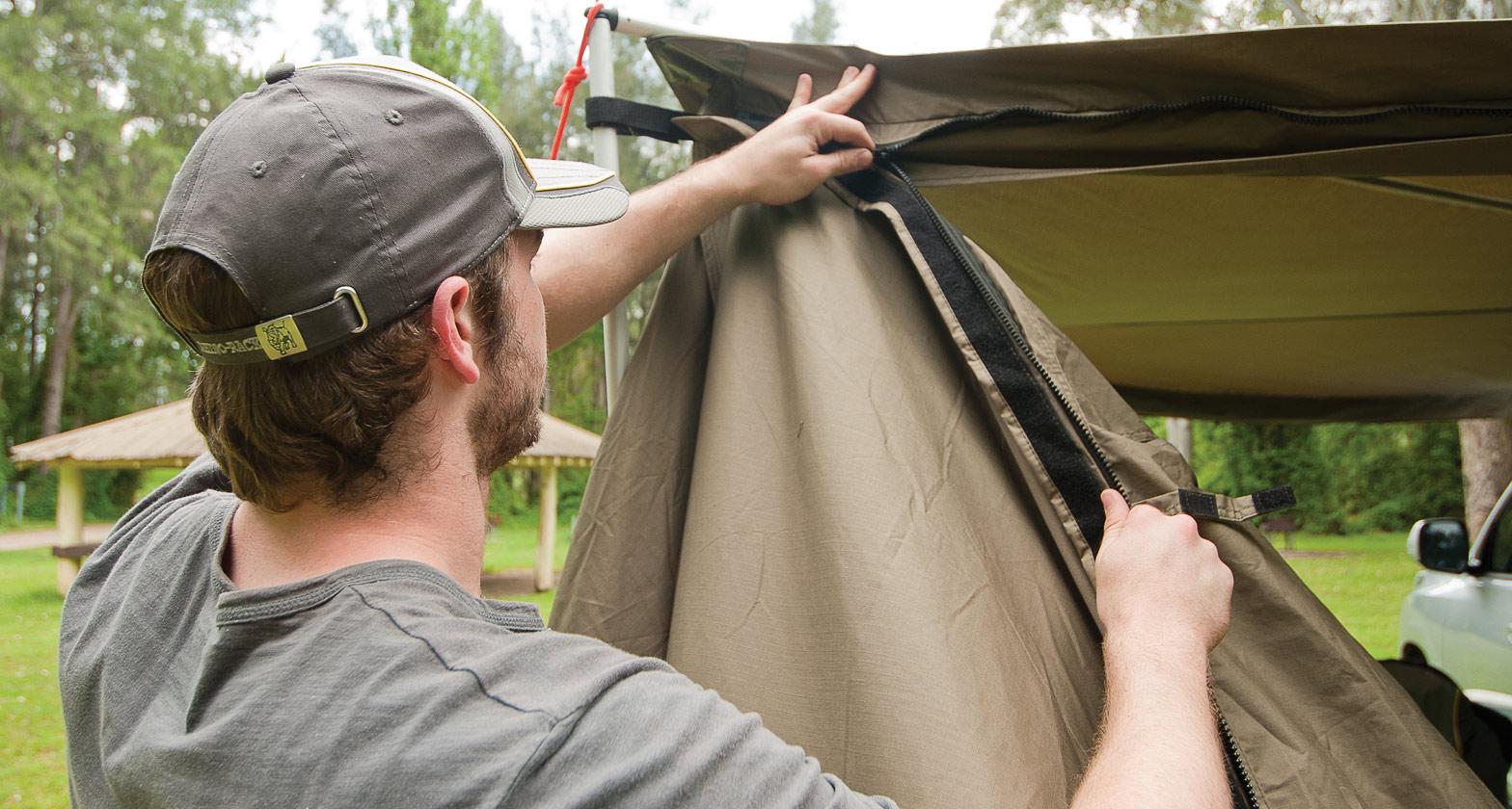 & Tagalong Tent - #RV5T | Rhino-Rack