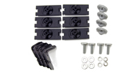 Alloy Tray Fitting Kit (Vortex 2 Bar Systems - For use with AT1210 & 1510)