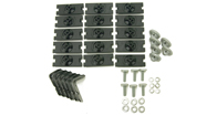 Alloy Tray Fitting Kit (Vortex 2 & 3 Bar Systems - For use with AT1814)
