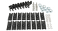 #SK45 - Alloy Tray Fitting Kit (Vortex 4 Bar Systems) | Rhino-Rack