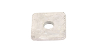Galvanised Washer Square