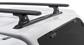 #JA8113 - Vortex RLT600 Trackmount Black 2 Bar Canopy Roof Rack | Rhino-Rack