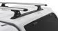 Vortex RLT600 Silver 2 Bar Roof Rack | Rhino-Rack