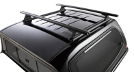 Vortex RLT600 Trackmount Black 2 Bar Roof Rack