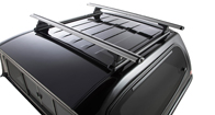 Vortex RLT600 Trackmount Silver 2 Bar Roof Rack