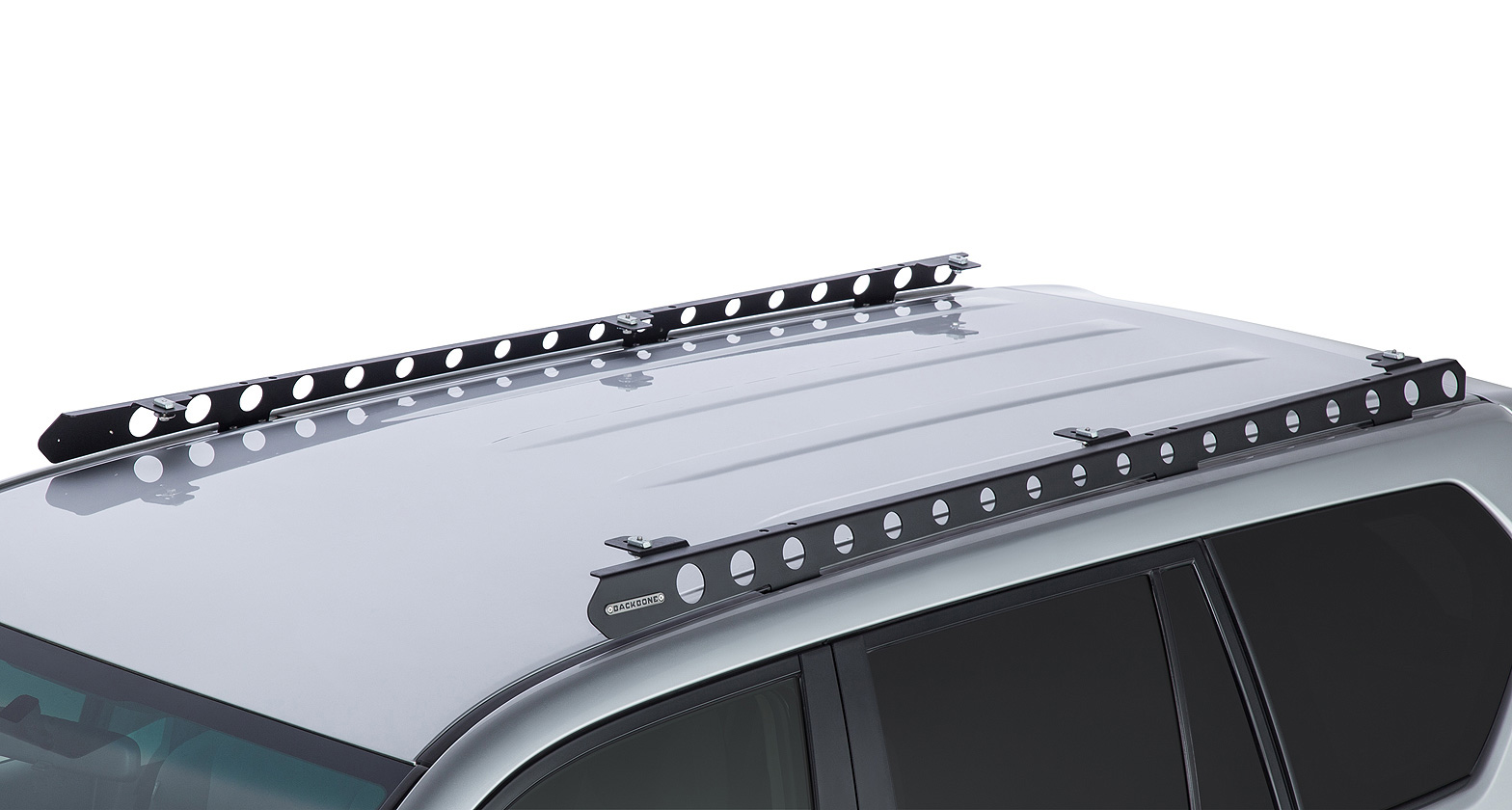 by system roof heavy rhino rack track mount bars racks duty aeroklas black