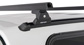 #JA6380 - Heavy Duty RLT600 Trackmount Black 2 Bar Canopy Roof Rack | Rhino-Rack