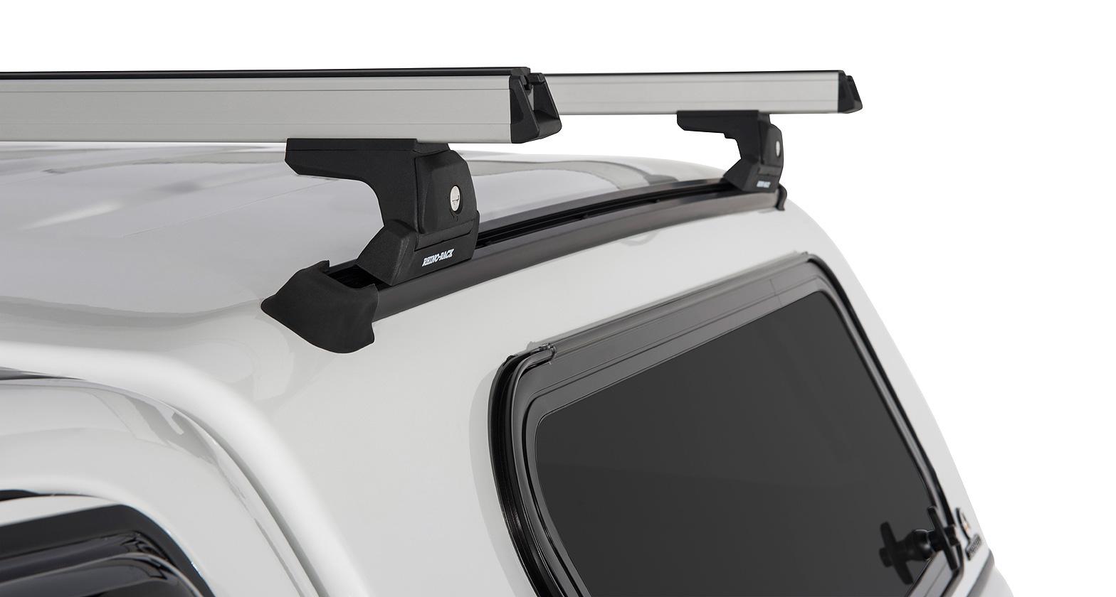 Auto Nexus Canopy - Heavy Duty RLT600 Silver 2 Bar Roof Rack | Rhino-Rack  sc 1 st  Rhino-Rack & Heavy Duty RLT600 Canopy Roof Rack | Rhino-Rack