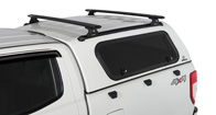 Vortex RLT600 Trackmount Black 2 Bar Canopy Roof Rack