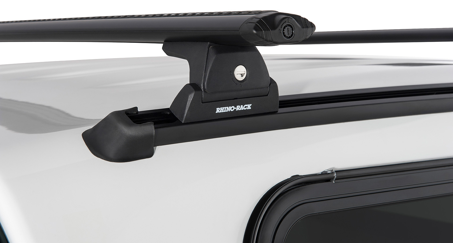 Ja6378 Vortex Rlt600 Trackmount Black 2 Bar Roof Rack