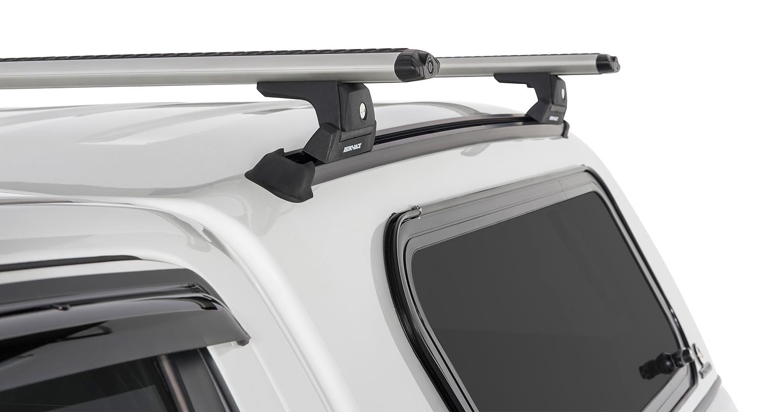 Ja6377 Vortex Rlt600 Trackmount Silver 2 Bar Canopy