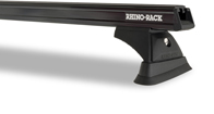 Heavy Duty RCH Black 2 Bar Roof Rack