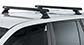 #JA9429 - Heavy Duty RCH Black 2 Bar Roof Rack | Rhino-Rack