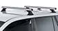 #JA9449 - Heavy Duty RCH Silver 2 Bar Roof Rack | Rhino-Rack