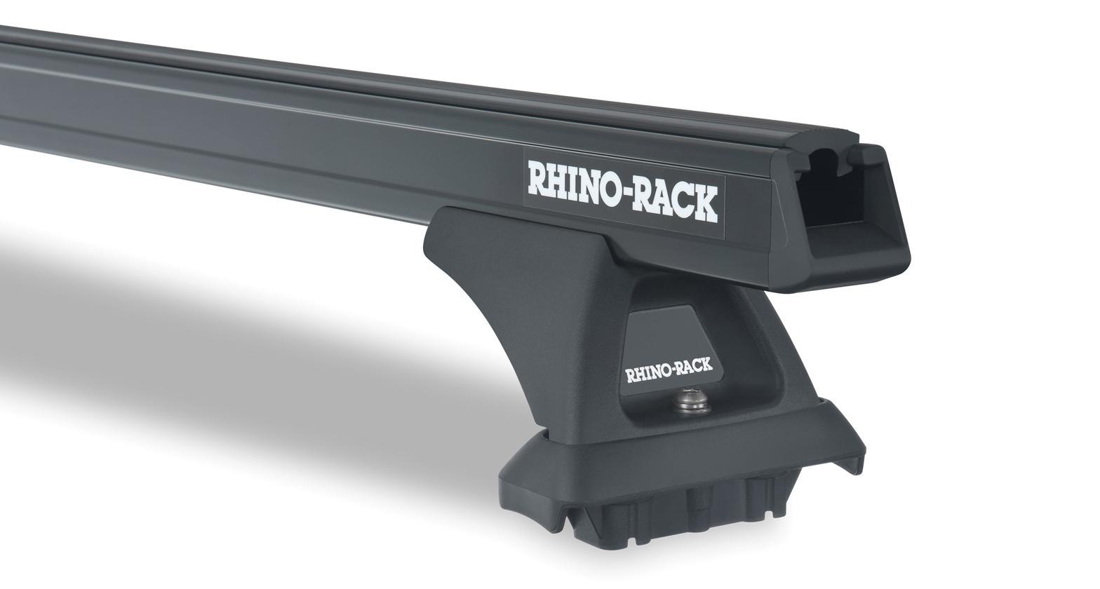 JA0547 - Heavy Duty RLCP Black 3 Bar Roof Rack | Rhino-Rack