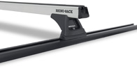 Heavy Duty RLT500 Trackmount Silver 2 Bar Roof Rack