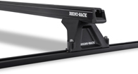 Heavy Duty RLTF Trackmount Black 2 Bar Roof Rack