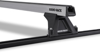 Heavy Duty RLTF Trackmount Silver 2 Bar Roof Rack