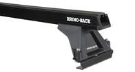 Heavy Duty RLTF Black 2 Bar Roof Rack (Mid/Rear)